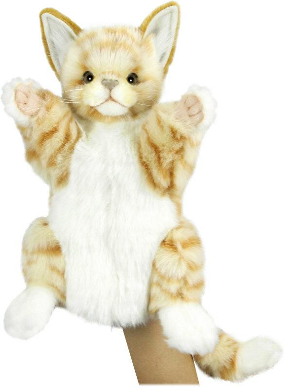 HANSA 7182 ネコ ジンジャー30 全長:30cm GI CAT BH7182 ぬいぐるみ ハンサ クリスマス 誕生日 プレゼント 動物 犬 猫 鳥 うさぎ ペンギン アニマル 置物 人形 フィギュア KOESEN ケーセン カロラータ 大きい マスコット 実物大 大型