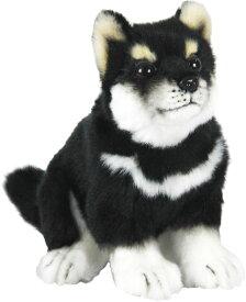 HANSA 7249 クロシバ(コ)22 全長:22cm DOG SHIBA PUP BH7249 ぬいぐるみ ハンサ 黒柴犬 黒柴 柴犬 クリスマス 誕生日 プレゼント 動物 犬 猫 鳥 うさぎ ペンギン アニマル 置物 人形 フィギュア KOESEN ケーセン カロラータ 大きい マスコット 実物大 大型