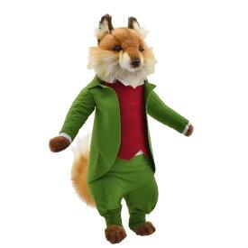 HANSA ピーターラビット コラボ BH7667 キツネどん トッド 43cm MR.TOD FOX43 きつね キツネ 狐 うさぎ リアル ぬいぐるみ ハンサ クリスマス 誕生日 プレゼント 動物 アニマル 置物 人形 フィギュア グッズ 大きい マスコット 実物大 大型 絵本