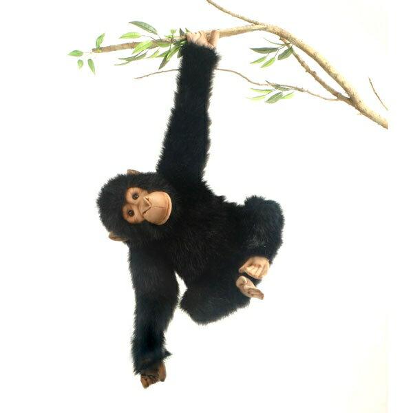 HANSA チンパンジー46 1759 ぬいぐるみ ハンサ 猿 クリスマス 誕生日 プレゼント 動物 犬 猫 鳥 うさぎ ペンギン アニマル 置物 人形 フィギュア KOESEN ケーセン カロラータ 大きい マスコット 実物大 大型