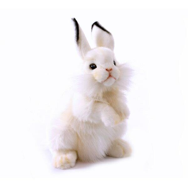 HANSA 白ウサギ35 3313 ぬいぐるみ ハンサ 兎 クリスマス 誕生日 プレゼント 動物 犬 猫 鳥 うさぎ ペンギン アニマル 置物 人形 フィギュア KOESEN ケーセン カロラータ 大きい マスコット 実物大 大型