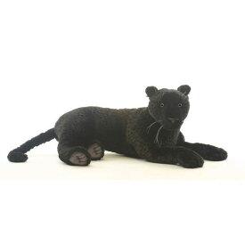 HANSA 黒ジャガー80 L80(cm) 3961 ぬいぐるみ ハンサ クリスマス 誕生日 プレゼント 動物 犬 猫 鳥 うさぎ ペンギン アニマル 置物 人形 フィギュア KOESEN ケーセン カロラータ 大きい マスコット 実物大 大型