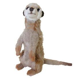HANSA ミーアキャット32 H32(cm) 4576 ぬいぐるみ ハンサ クリスマス 誕生日 プレゼント 動物 犬 猫 鳥 うさぎ ペンギン アニマル 置物 人形 フィギュア KOESEN ケーセン カロラータ 大きい マスコット 実物大 大型