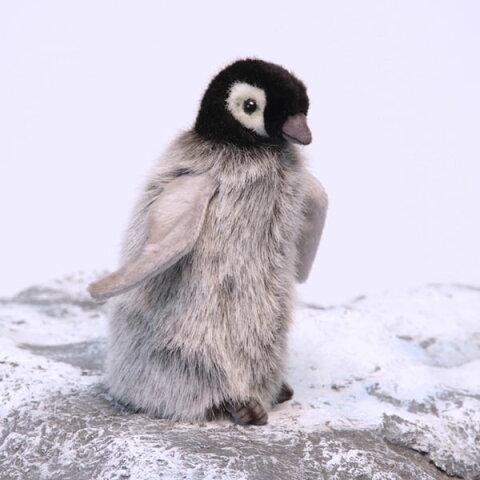 可愛くてリアル!世界的大人気ぬいぐるみHANSA赤ちゃん皇帝ペンギン15H15(cm)4669HANSA商品2点ご注文で送料無料!