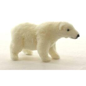HANSA シロクマ27 L27(cm) 4768 ホッキョクグマ 白熊 しろくま 白くま クマ 熊 ベア ベアー テディベア ぬいぐるみ ハンサ クリスマス 誕生日 プレゼント 動物 ペンギン アニマル 置物 人形 フィギュア KOESEN ケーセン カロラータ 大きい マスコット 実物大 大型 北極熊