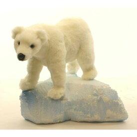HANSA シロクマ33 L33(cm) 4776 白熊 しろくま 白くま クマ 熊 ベア ベアー テディベア ぬいぐるみ ハンサ クリスマス 誕生日 プレゼント 動物 犬 猫 鳥 うさぎ ペンギン アニマル 置物 人形 フィギュア KOESEN ケーセン カロラータ 大きい マスコット 実物大 大型