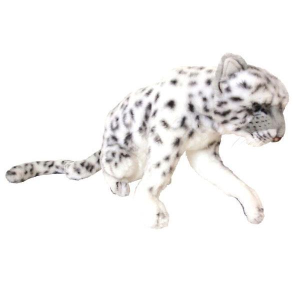 HANSA 雪ヒョウ38 L38(cm) 5318 ぬいぐるみ ハンサ クリスマス 誕生日 プレゼント 動物 犬 猫 鳥 うさぎ ペンギン アニマル 置物 人形 フィギュア KOESEN ケーセン カロラータ 大きい マスコット 実物大 大型