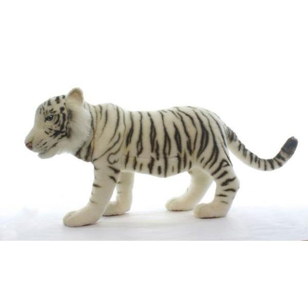 HANSA ホワイトタイガー60 L60(cm) 5333 ぬいぐるみ ハンサ クリスマス 誕生日 プレゼント 動物 犬 猫 鳥 うさぎ ペンギン アニマル 置物 人形 フィギュア KOESEN ケーセン カロラータ 大きい マスコット 実物大 大型