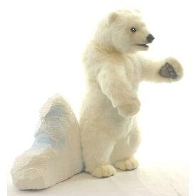 HANSA 子シロクマ40 L40(cm) 5433 白熊 しろくま 白くま クマ 熊 子熊 子グマ こぐま ベア ベアー テディベア ぬいぐるみ ハンサ クリスマス 誕生日 プレゼント 動物 犬 猫 鳥 アニマル 置物 人形 フィギュア KOESEN ケーセン カロラータ 大きい マスコット 実物大 大型