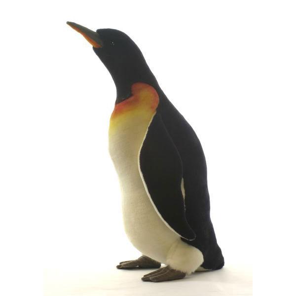 HANSA ペンギン48 H48(cm) 5554 ぬいぐるみ ハンサ クリスマス 誕生日 プレゼント 動物 犬 猫 鳥 うさぎ ペンギン アニマル 置物 人形 フィギュア KOESEN ケーセン カロラータ 大きい マスコット 実物大 大型
