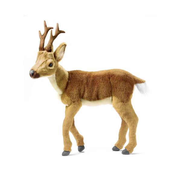 HANSA 灰色子ジカ47 H47(cm) 5602 ぬいぐるみ ハンサ 子鹿 鹿 バンビ クリスマス 誕生日 プレゼント 動物 犬 猫 鳥 うさぎ ペンギン アニマル 置物 人形 フィギュア KOESEN ケーセン カロラータ 大きい マスコット 実物大 大型