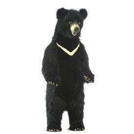 HANSA 黒クマ120 H120(cm) 5859 クマ 熊 ベア ベアー テディベア 子供 赤ちゃん 黒熊 ぬいぐるみ ハンサ クリスマス 誕生日 プレゼント 動物 犬 猫 鳥 うさぎ ペンギン アニマル 置物 人形 フィギュア KOESEN ケーセン カロラータ 大きい マスコット 実物大 大型