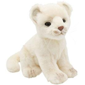 HANSA 6362 ホワイトライオン(コ)26 全長:26cm WHITE LION BH6362 子供 ライオン 子ライオン ぬいぐるみ ハンサ クリスマス 誕生日 プレゼント 動物 犬 猫 鳥 うさぎ ペンギン アニマル 置物 人形 フィギュア KOESEN ケーセン カロラータ 大きい マスコット 実物大 大型