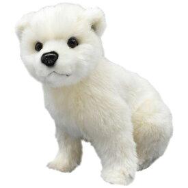 HANSA 7042 ホッキョクグマ(コ)25 全長:25cm POLAR BEAR BH7042 小熊 子熊 仔熊 北極熊 クマ 熊 ベア ベアー テディベア 子供 赤ちゃん ぬいぐるみ ハンサ クリスマス 誕生日 プレゼント 動物 犬 猫 鳥 アニマル 置物 人形 フィギュア 大きい 実物大 大型