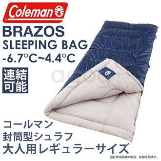 Coleman Brazos Sleeping Bags Bound For Envelope Type Regular Size From Sub Zero Temperatures At Any Time Bag Csh