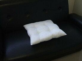 シートクッション シートクッション中材 クッション ボリューム ひもなし 日本製 側サイズ45cm角【A_座1】