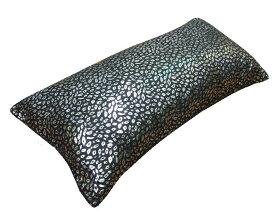 ヒョウ シルバー 箔プリント 抱き枕 抱きまくら ロング クッション 枕 まくら ピロー サイズ43x90cm カバーは付いていません カバーなし【ss1909】【A_抱1】