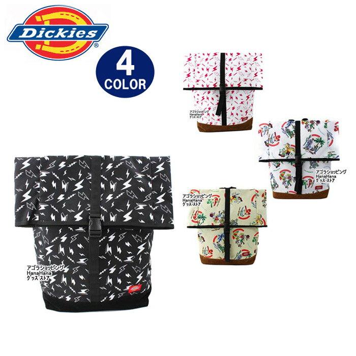 ディッキーズ バッグ リュック 1763700 17607900 クラッチトップ カジュアル柄デザイン リュック デイバッグ Dickies 男女兼用 ag-785500