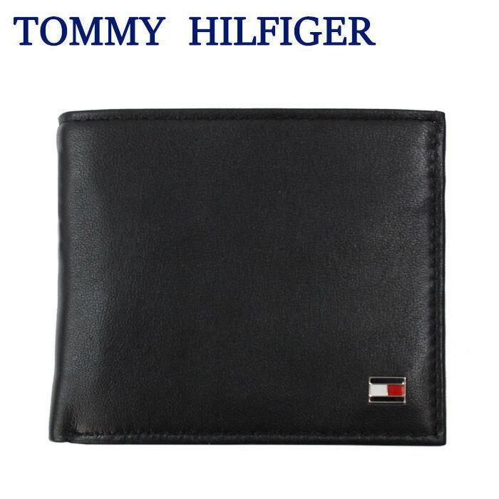 トミーヒルフィガー 財布 31TL25X003 レザー 二つ折り財布 メンズ トミー TOMMY HILFIGER ag-932400
