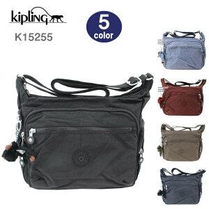 キプリング Kipling バッグ K15255 ショルダー Gabbie ギャビー サイド フロントポケット ナイロン ag-869600