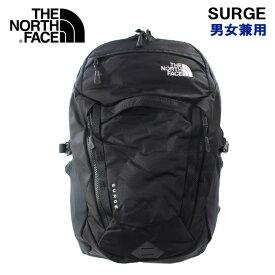 ザ・ノース・フェイス リュック SURGE サージ NF0A3ETVJK3 BLACK THE NORTH FACE ブラック リュックサック ノースフェイス バックパック 男女兼用 31L ag-893000