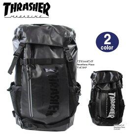 6565dfc59a09 スラッシャー バッグ リュック THRTP502 バックパック かぶせ ダブルベルト サイドメッシュポケット付き デイバッグ リュック