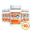 αGPC (アルファGPC) 60粒 高純度グリセロホスホコリン配合 10本セット 【送料無料】【子供 サプリメント】