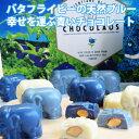 【幸せを運ぶ青いチョコレート12個入】バタフライピー 青い チョコレート 青 象 チョコ パウダー 粉末 ホワイト ユニ…