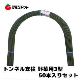 トンネル支柱 野菜用 11mm×2100mm パック売り50本いり セキスイ樹脂