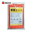 野菜ネット10kg 赤 収穫袋 シンセイ