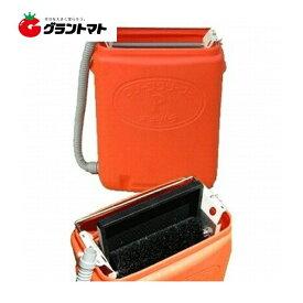 クリーンクリーナー P オレンジ 手動式育苗箱洗浄機 オギハラ工業
