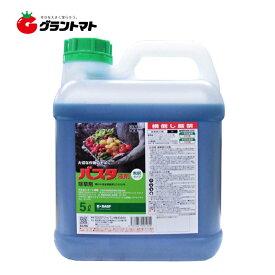 バスタ液剤 5L 農園芸にもおすすめな茎葉浸透除草剤 農薬 BASF ☆手袋付き☆