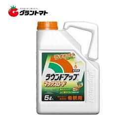 ラウンドアップマックスロード5L 高吸収・高浸透な茎葉除草剤 希釈タイプ 農薬 日産化学【2022年10月期限】