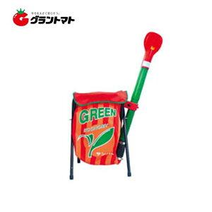 グリーンサンパーエコノミー 軽量タイプの肥料散布機 容量20kg〜25kg ヤマト農磁