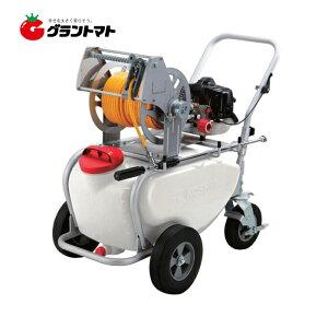 ガーデンスプレーヤー ES-50T 50L タンクキャリー付エンジン動噴 工進【取寄商品】