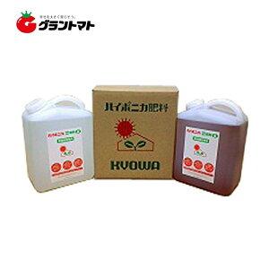 ハイポニカ A剤+B剤 各4L (4000ml)セット 水耕栽培 協和の液体肥料 液肥【取寄商品】