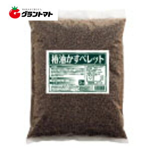 椿油かすペレット 1.4-0.4-1.28 3kg 土壌活性肥料 ドリーム【椿油粕 天然サポニン粕】