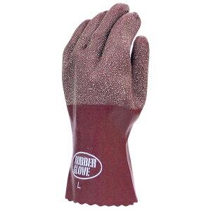 ラバーグローブ FT-3150-3P 茶 Sサイズ 3双組 天然ゴム手袋 COVER WORK 布施商店