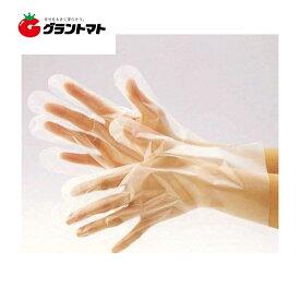 調理用ポリエチレン手袋 半透明 Lサイズ 100枚入 ダンロップホームプロダクツ