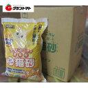 ミィちゃんの猫砂 2穴タイプ 7L 箱売り 6個いり おから系のネコのトイレの砂 エコクリーン