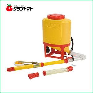 さんすけ OB-24 背負式肥料散布機 車輪付きタイプ 向井工業 【取寄商品】