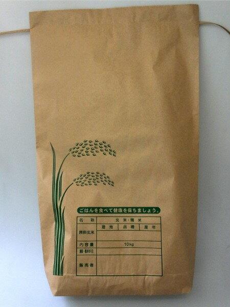 米袋 新袋印刷Aタイプ 2kg3Kg兼用 2重構造の紙袋