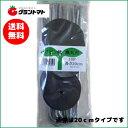 ヘアピン杭黒丸付20cm 500個入り(10個×50パック)