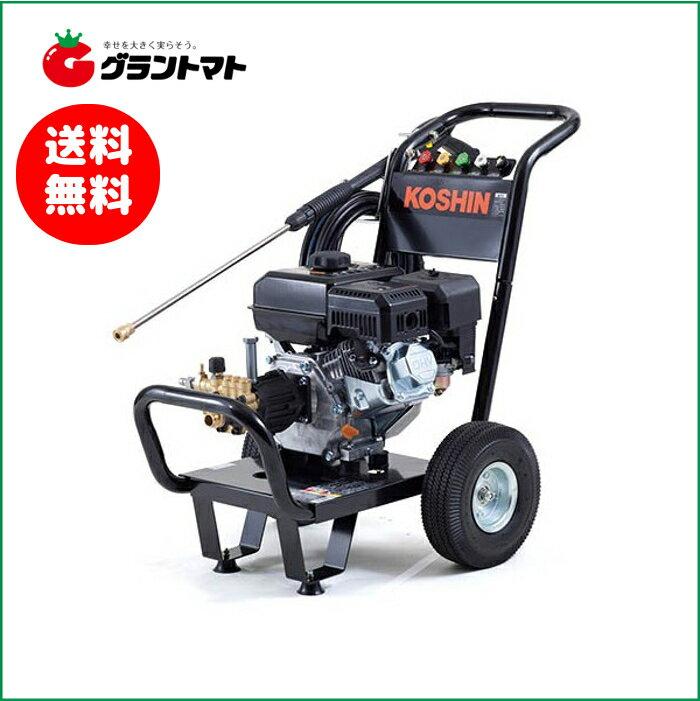 工進 ジェットクリーナー JCE-1408UDX 車輪付 エンジン式高圧洗浄機 最大14MPa8L【取寄商品】