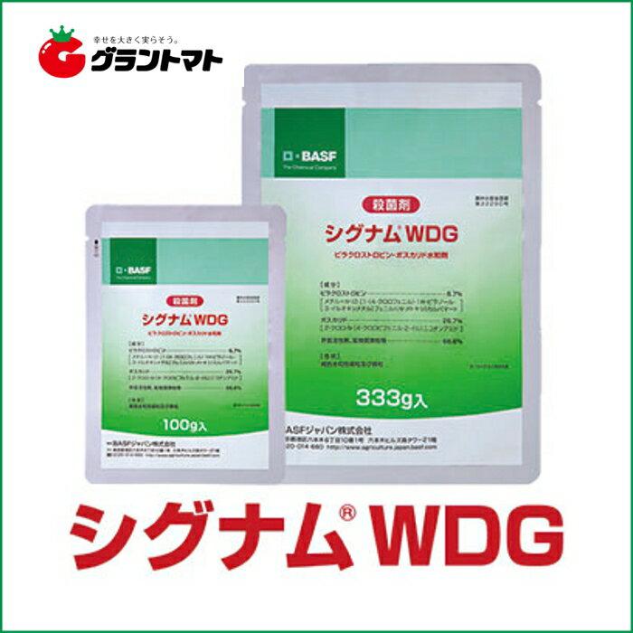 シグナムWDG 333g ダブルブロック型野菜用殺菌剤【取寄商品】