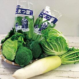 【送料無料】【JAわかやま】 てまり野菜セットB 和歌山特産品セット(野菜セット:白菜1個、キャベツ1個、大根1本、小松菜2袋、ブロッコリー2個)【代引き不可】※画像はイメージです。