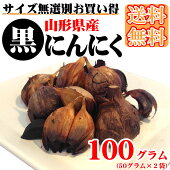 [送料無料]山形県産黒にんにく100g