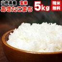 【あす楽】【当日精米】 【送料無料】平成30年度産 山形県産あきたこまち 玄米 5kg【白米・無洗米・分づき】