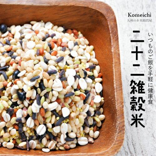 雑穀米 送料無料 お米屋厳選の22雑穀米 たっぷり660g(30g×22袋入り)雑穀