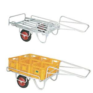 【個人宅配送OK】ハラックス BS-1108 リヤカー 運搬車 輪太郎 【最大積載量120キロ】 【万能タイプ】 【エアータイヤ】 【メーカー直送・代引不可】 BS1108